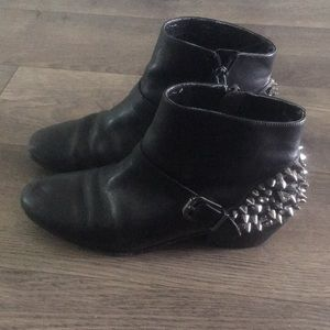 Sam Edelman booties with spikes